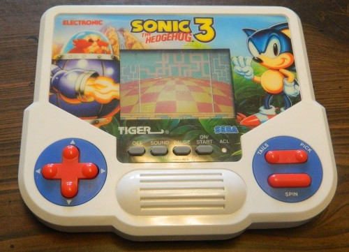 Tiger Electronics Handheld Sonic the Hedgehog 3