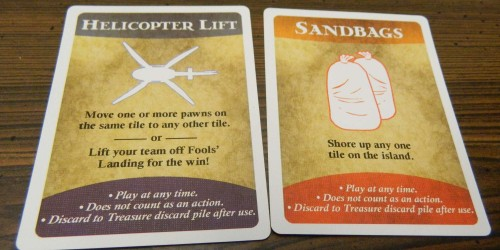 Special Cards in Forbidden Island
