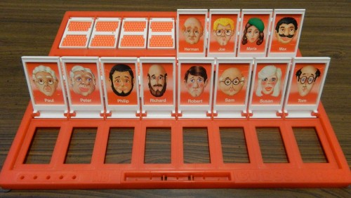 Letter Strategy in Guess Who