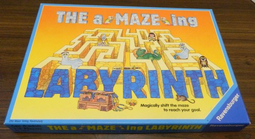 labyrinth board game how to play