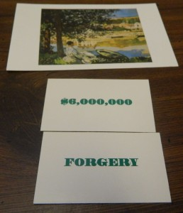 Forgery in Masterpiece
