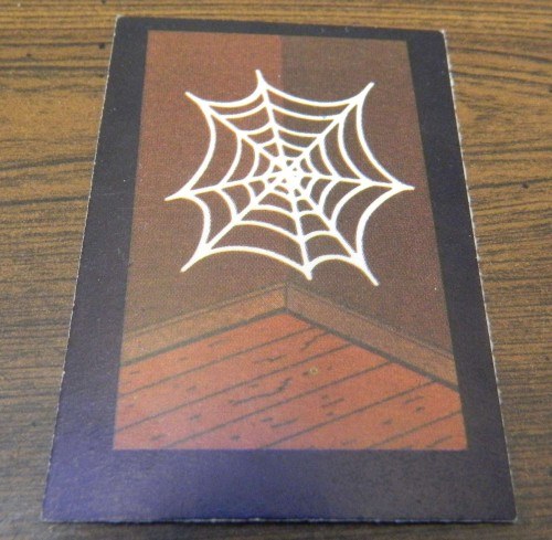 Cobweb Card in Mystery Mansion