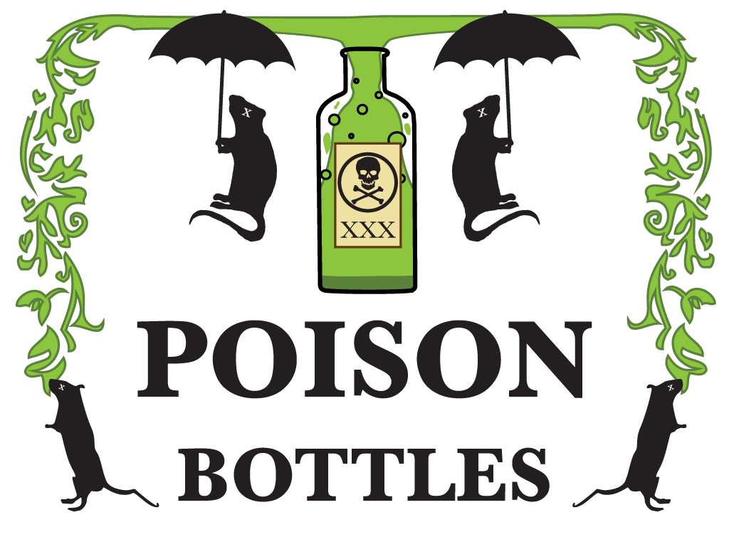 Poison Bottles Logo