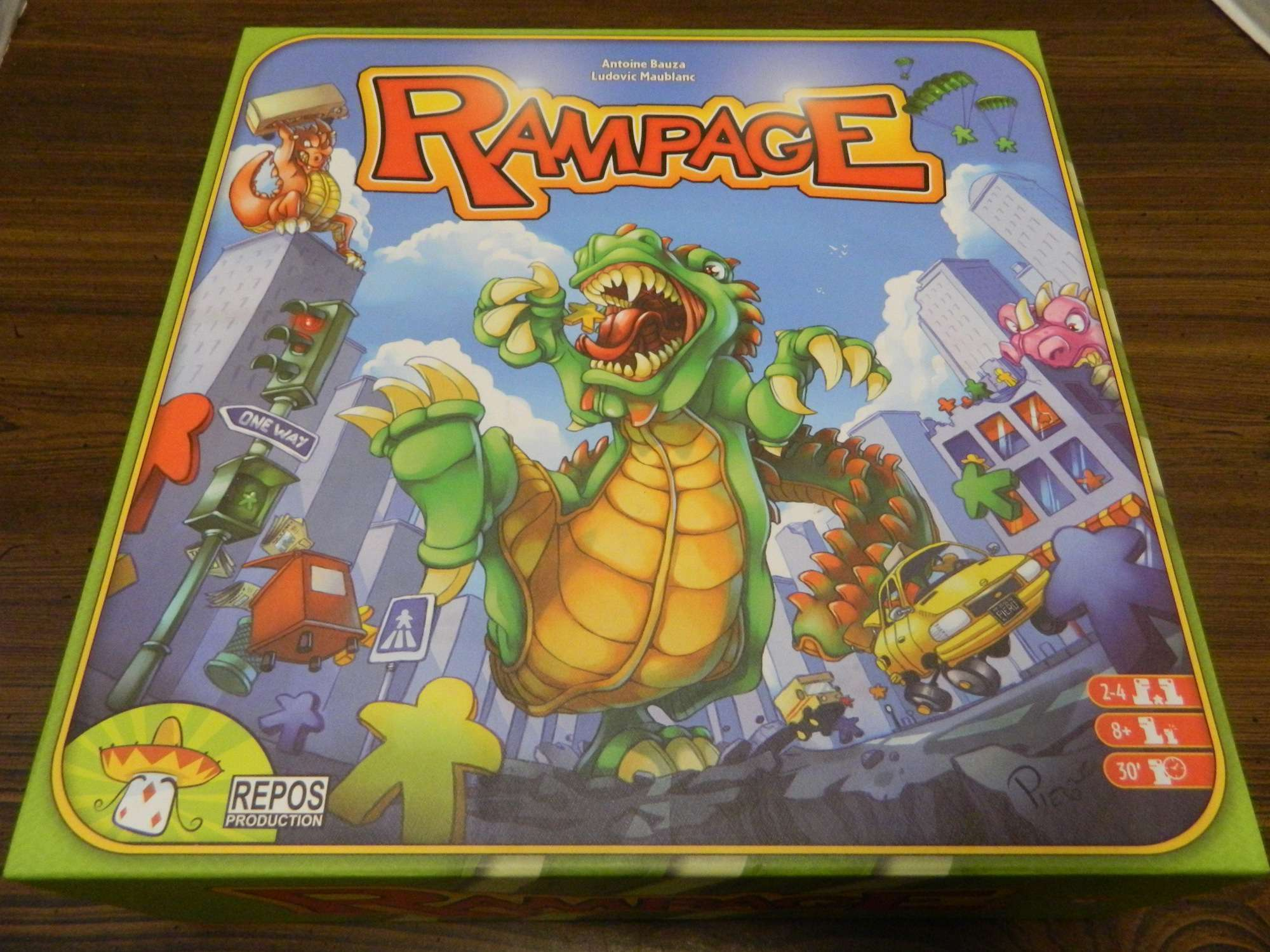 Rampage Terror In Meeple City Board Game Review And Rules