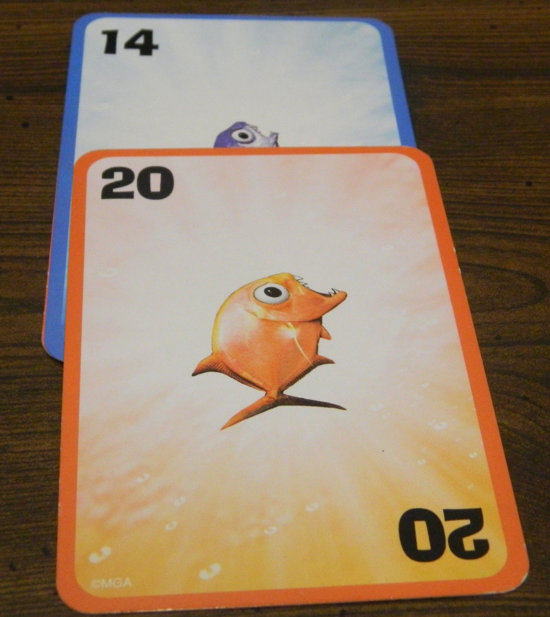 Big fish lil' fish card game review and rules   geeky hobbies.