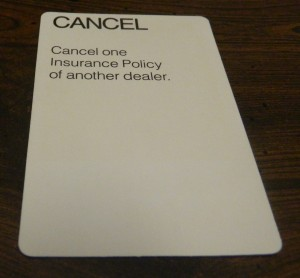 Cancel Card in Dealer's Choice