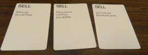 Sell Cards in Dealer's Choice