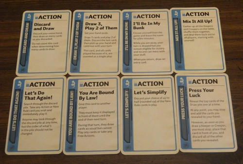 Firefly Fluxx Card Game Sample Action Cards