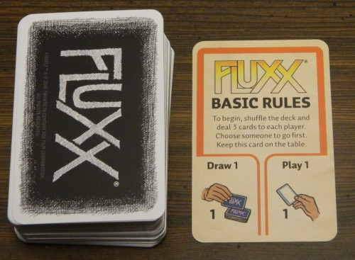 Firefly Fluxx Card Game Start of Game