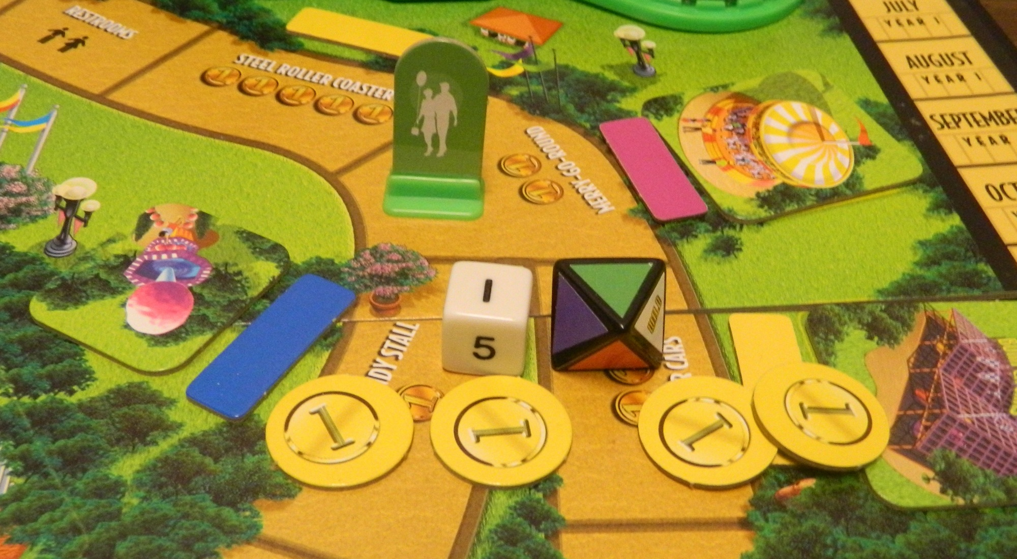 Roller Coaster Tycoon Board Game Review and Rules | Geeky