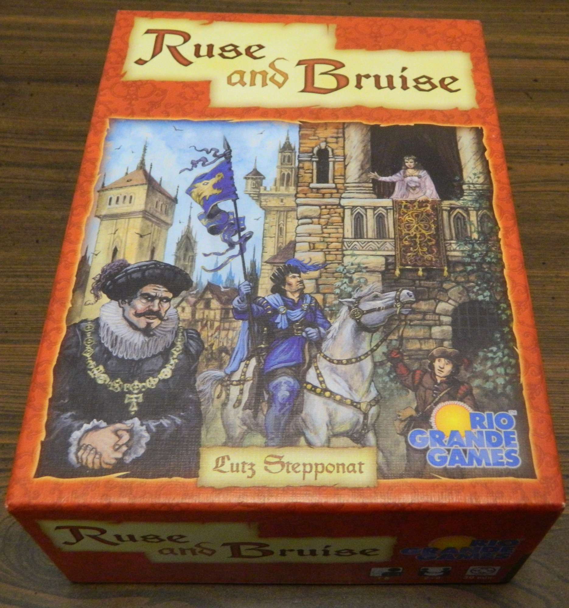 Box for Ruse and Bruise