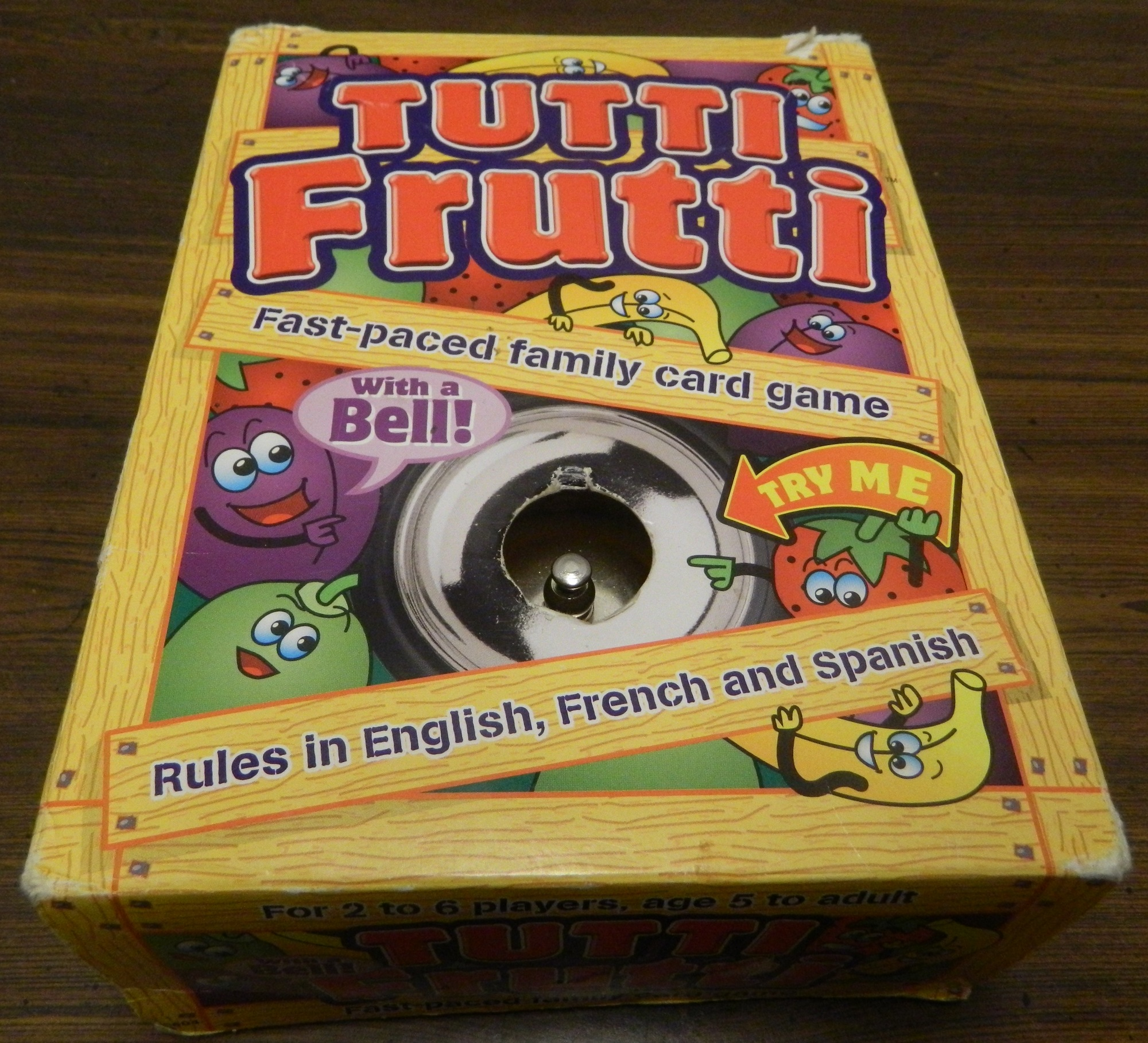 Amazon. Com: tutti frutti fast=paced family card game: toys & games.