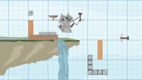 Ultimate Chicken Horse Building the Level