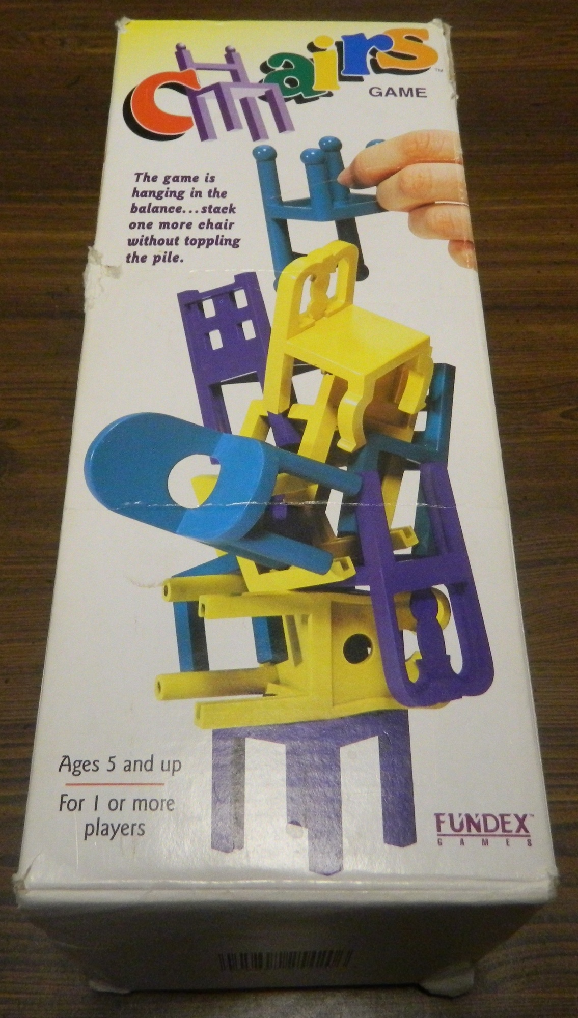 Charmant Board Games » Reviews » Dexterity » Chairs Board Game Review And Rules