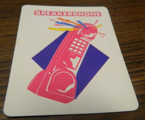 Speakerphone card in Dream Phone