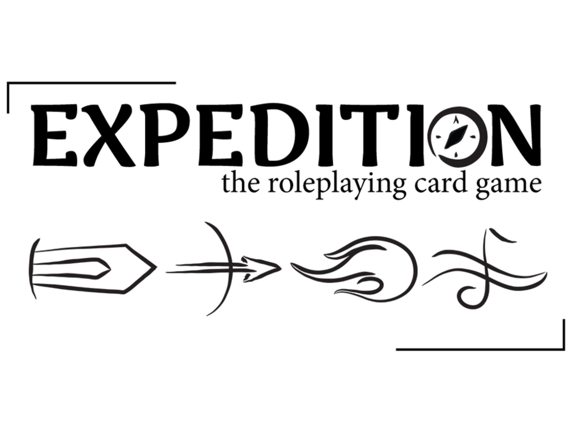 Logo for Expedition The Roleplaying Card Game