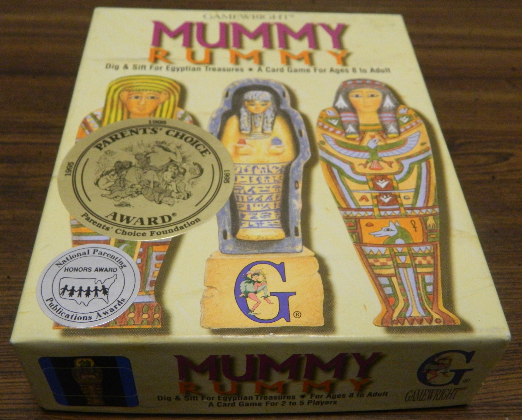 Box for Mummy Rummy