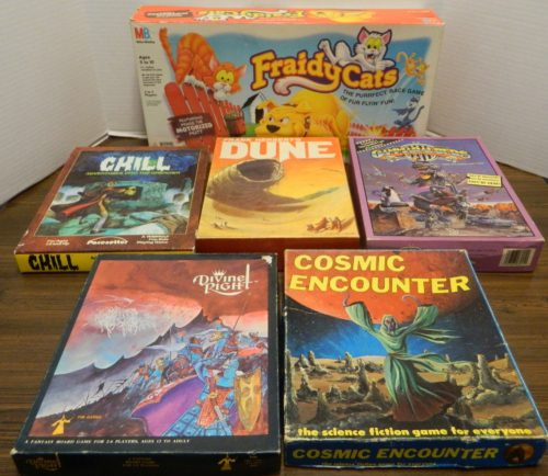 Valuable Board Games