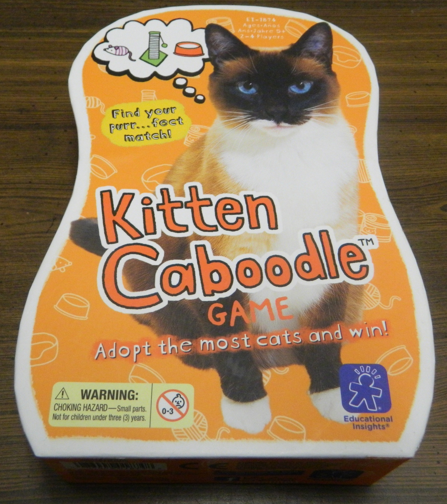Box for Kitten Caboodle