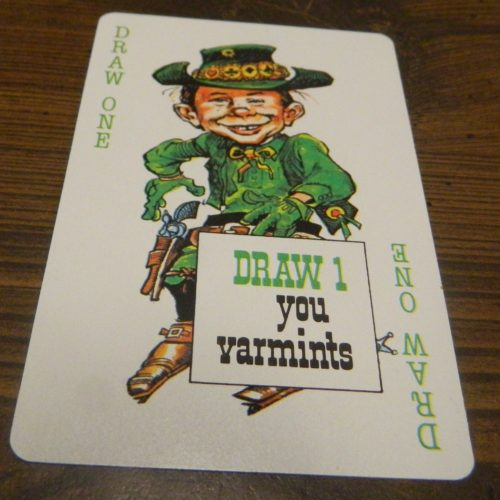 Mad Magazine Card Game Draw 1 You Varmints