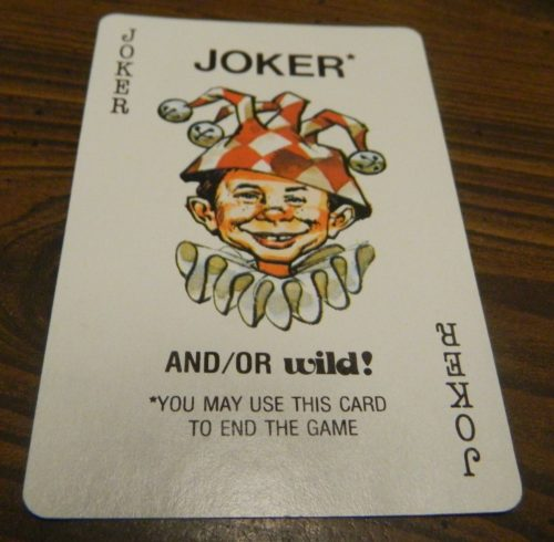 Joker Card in Mad Magazine Card Game