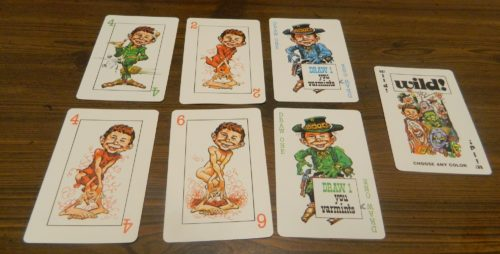 Playing Cards in Mad Magazine Card Game