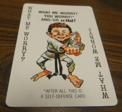 What Me Worry Mad Magazine Card Game