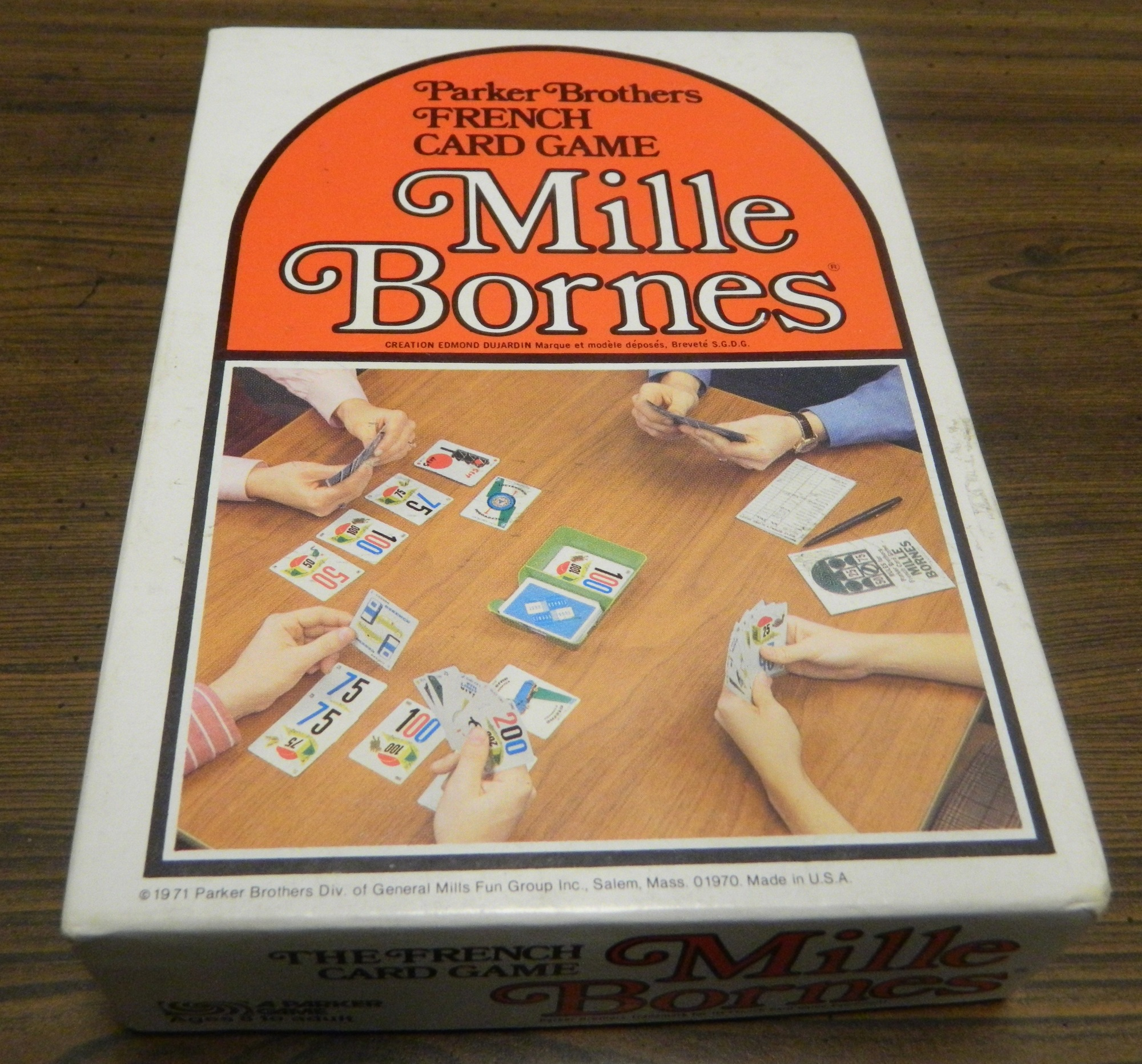 Mille bornes card game review and rules geeky hobbies for Dujardin 1000 bornes