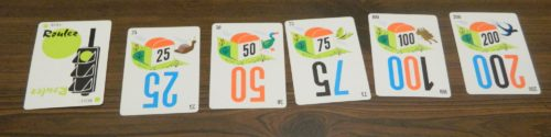 Distance Cards in Mille Bornes