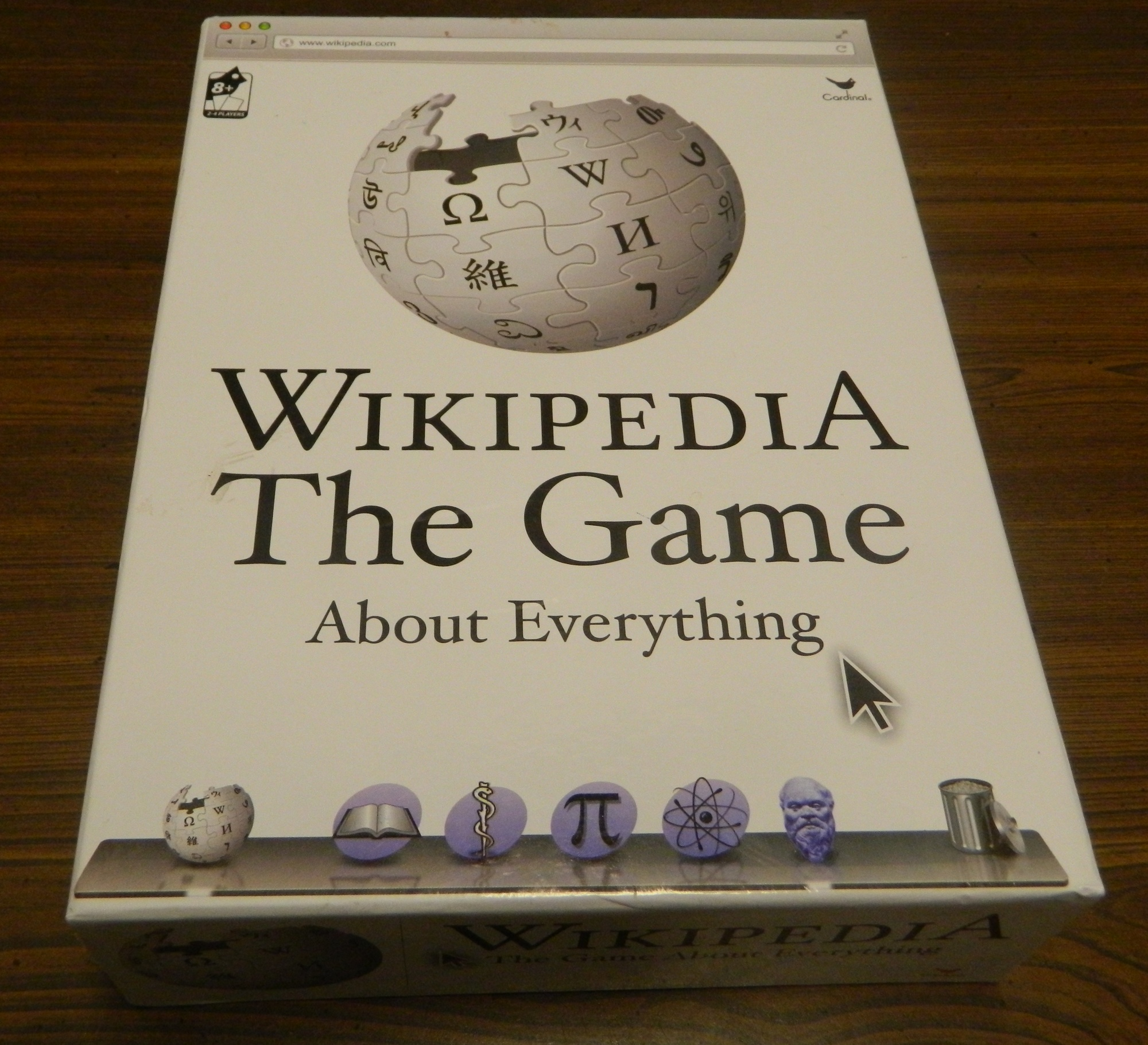 Box for Wikipedia Game