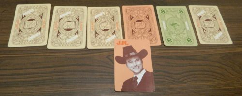 JR Card in Dallas Card Game