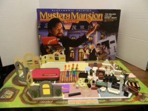 Electronic Talking Mystery Mansion Board Game Review And Rules Geeky Hobbies