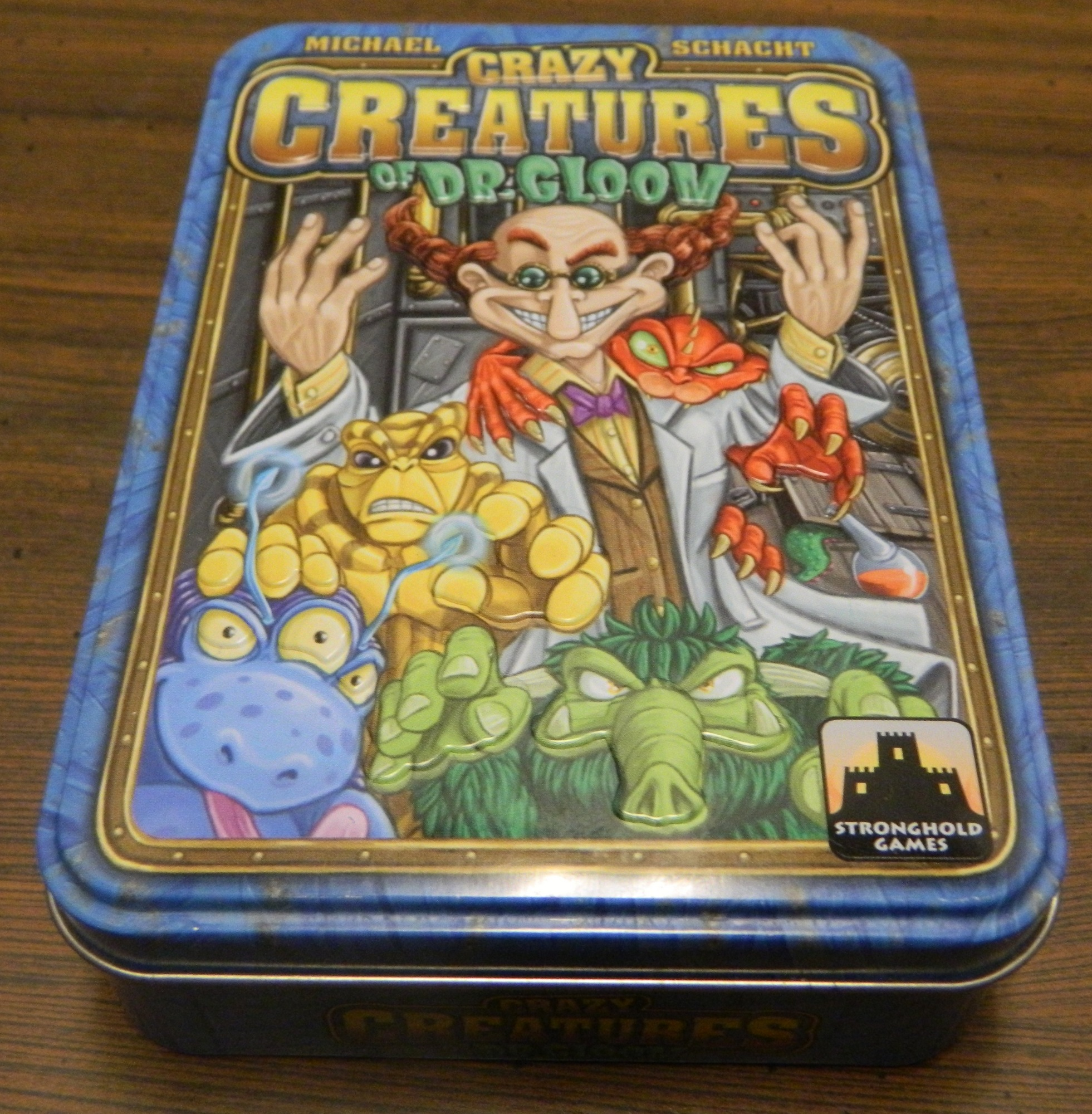 Box for Crazy Creatures of Dr Gloom