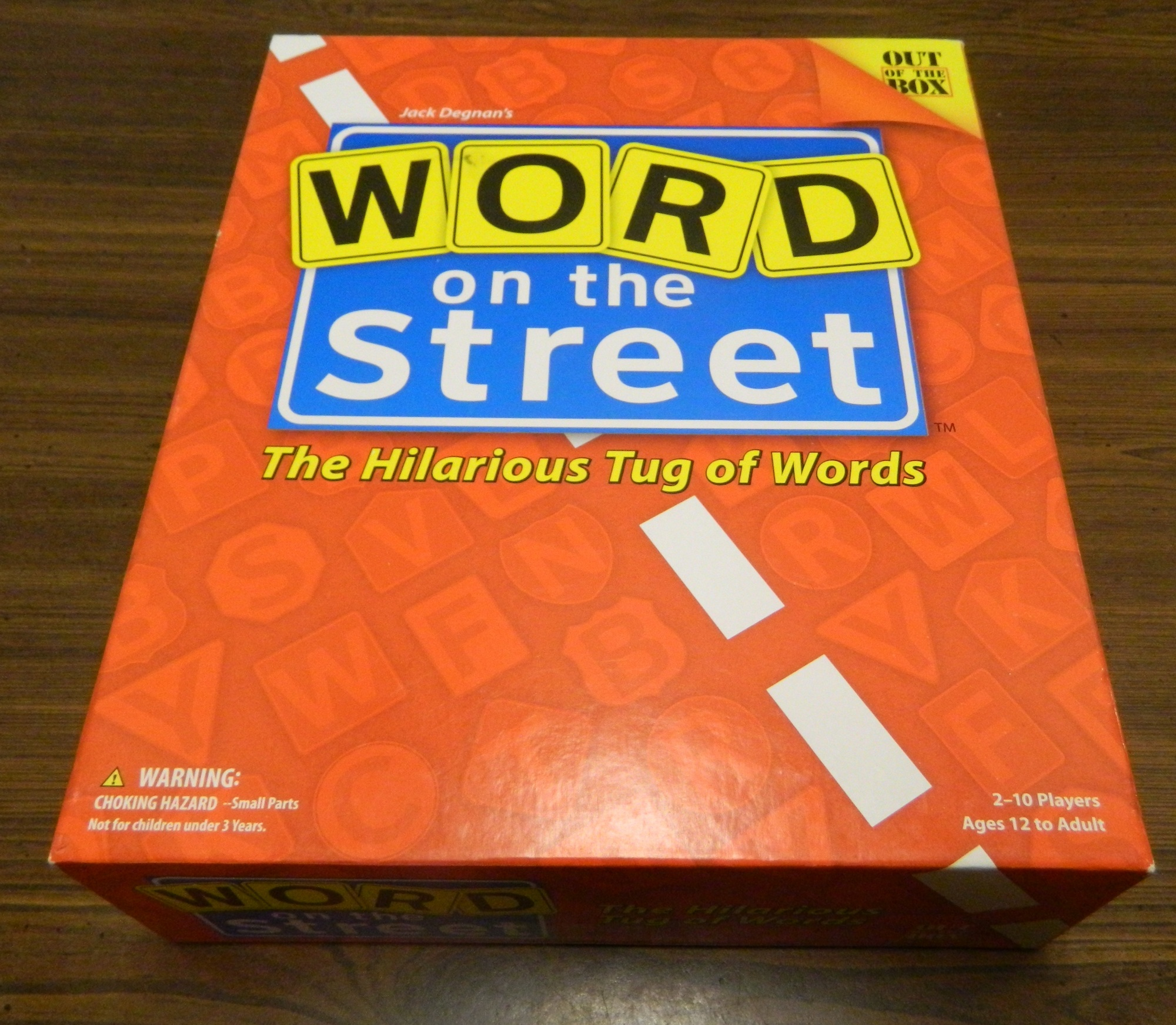 Box for Word On The Street