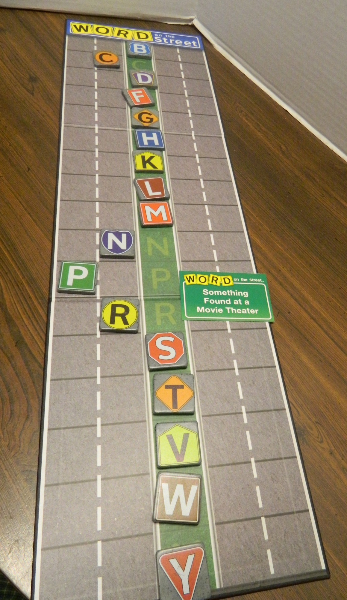 Word on the street board game review and rules geeky hobbies making words in word on the street publicscrutiny Choice Image