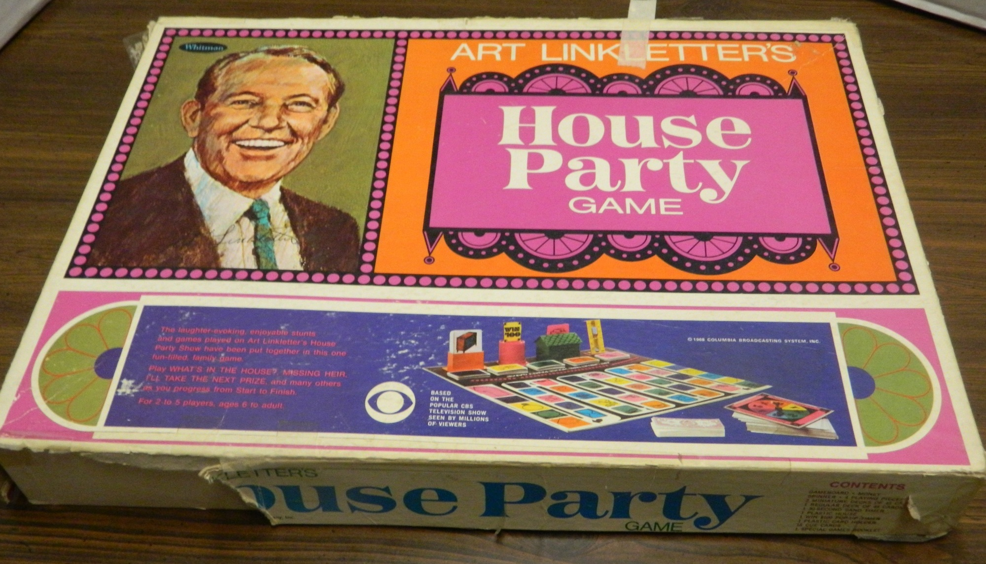 Box for Art Linkletter's House Party