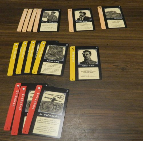 Determining Jack the Ripper in Mystery Rummy Jack the Ripper