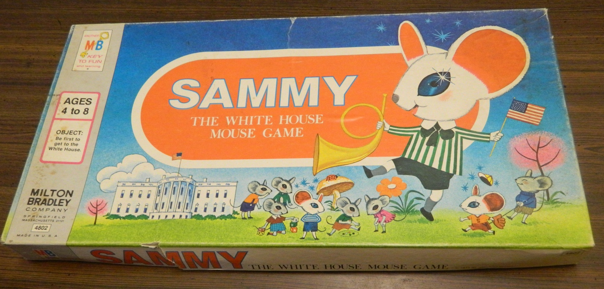 Sammy The White House Mouse