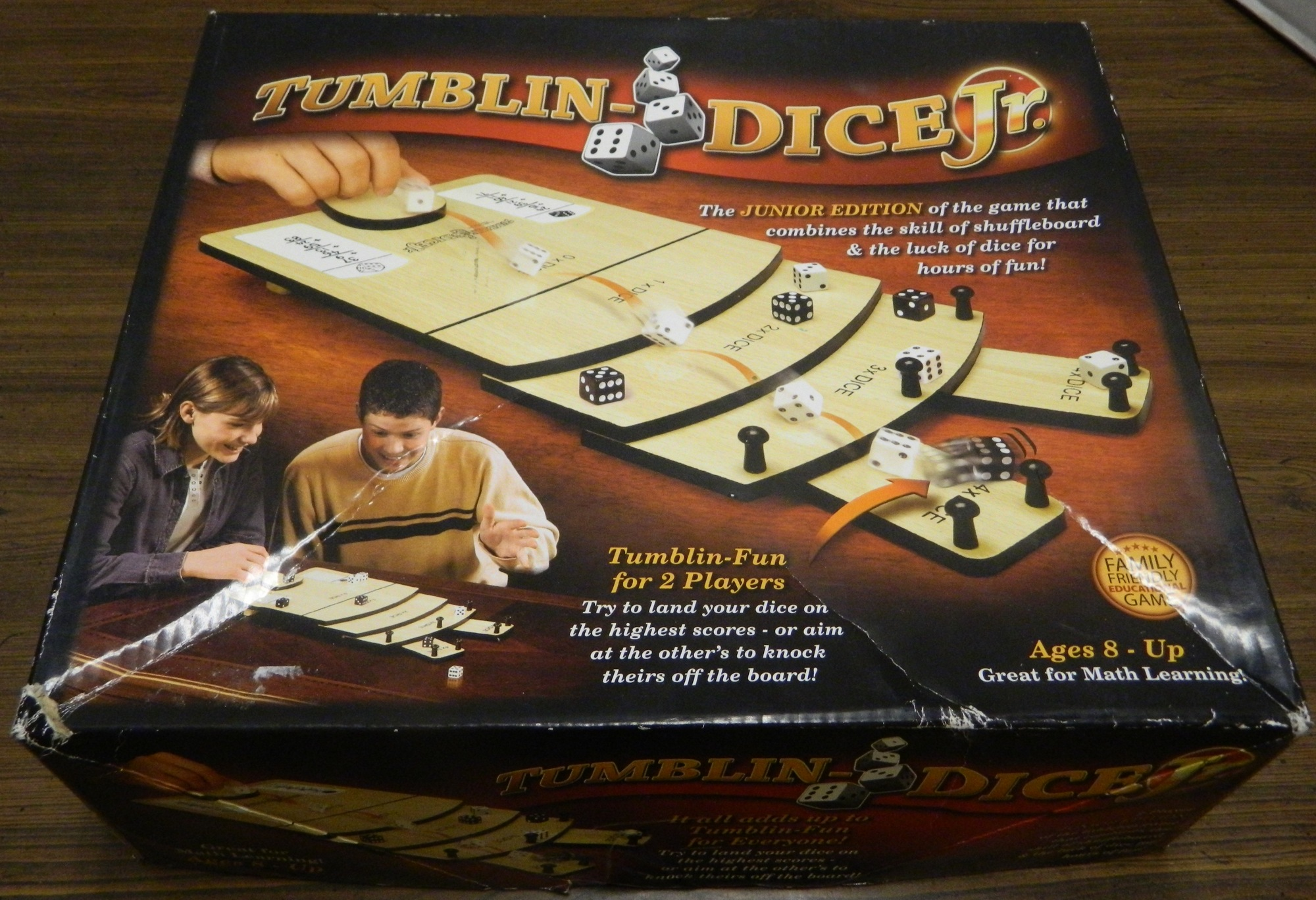 Box for Tumblin-Dice Jr