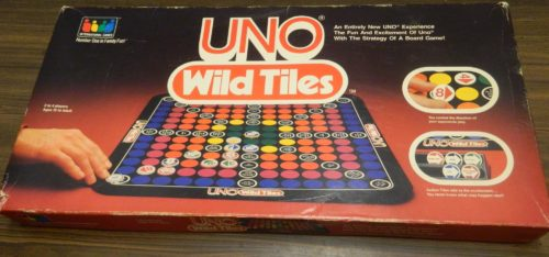 Box for Uno Wild Tiles