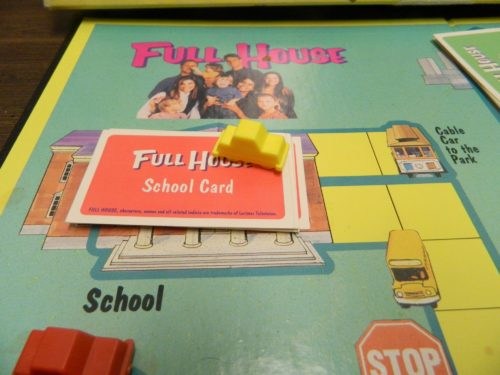 Grab A Card in Full House Board Game
