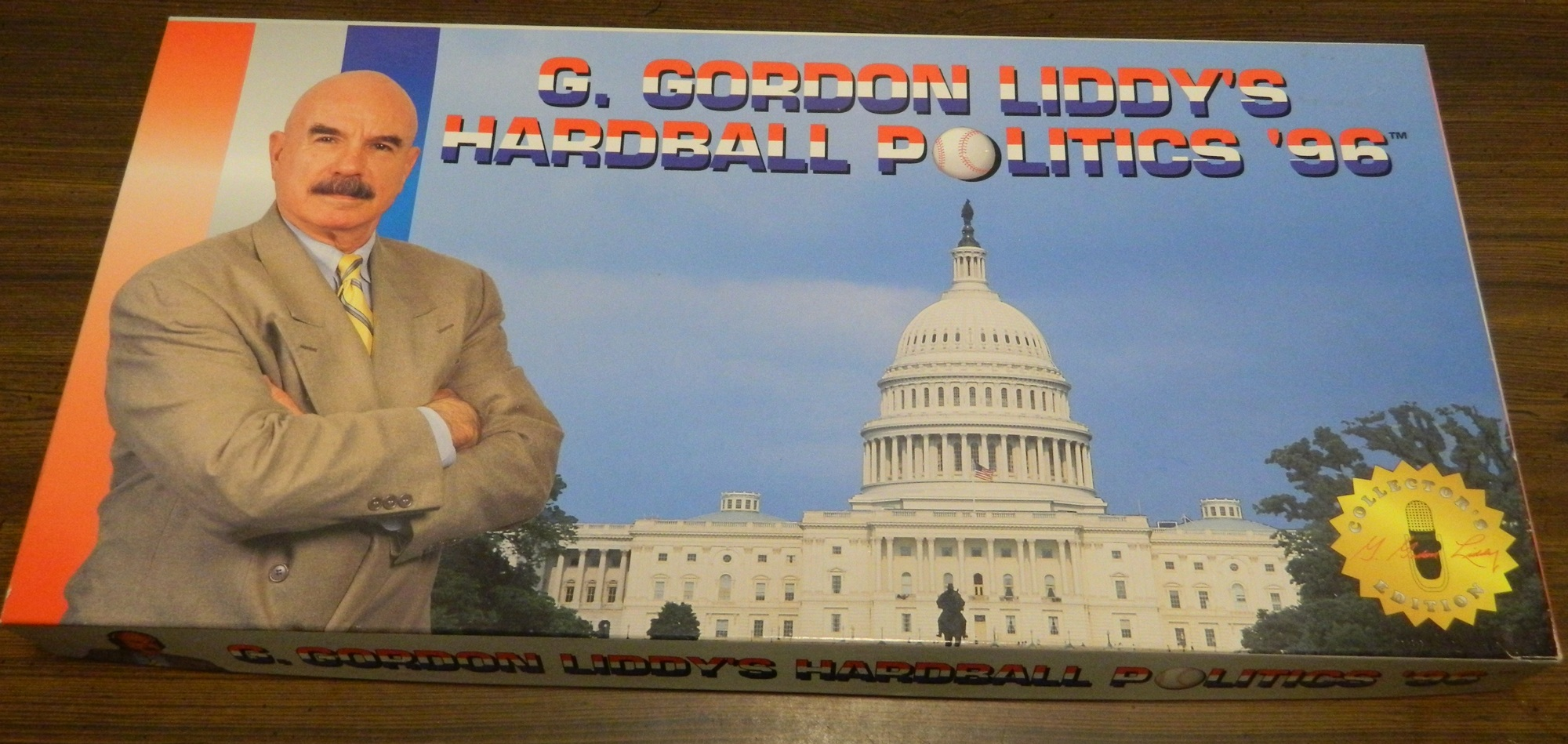 Box for G Gordon Liddy's Harball Politics '96
