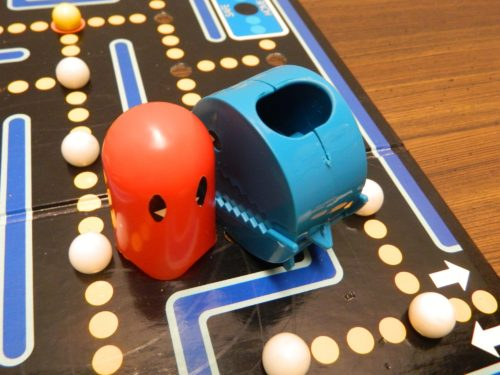 Ghost Attack in Pac-Man Board Game