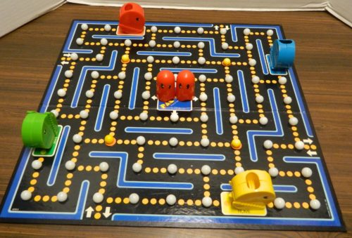 Setup for the Pac-Man Board Game