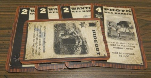 Hideout Card in Wyatt Earp