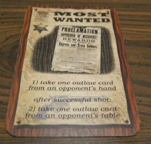 Most Wanted Card Wyatt Earp