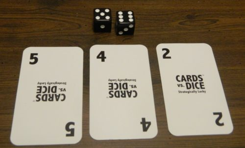 Play Multiple Cards in Cards Vs Dice