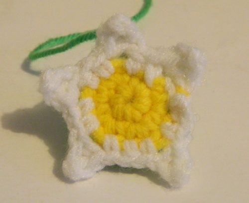 Crochet Pikmin Flower