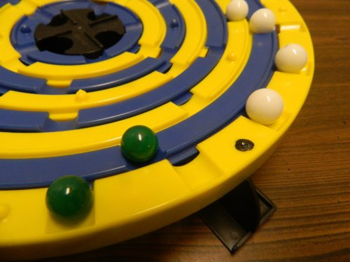 Moving Marbles in Stadium Checkers