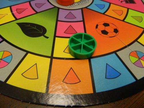 Specific Category Space in Trivial Pursuit Party